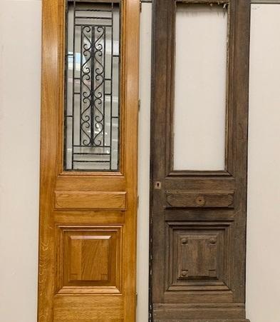 Ancienne porte / Nouvelle porte