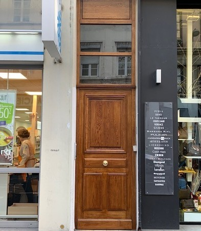 Porte entrée immeuble
